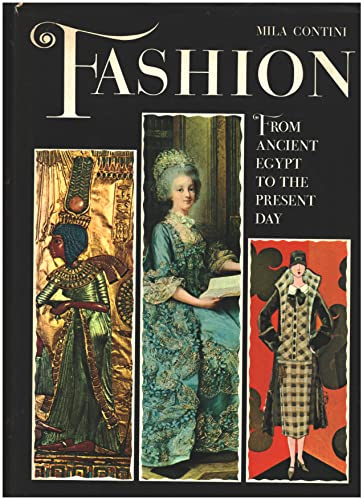 9780517099872: Fashion: From Ancient Egypt to the Present Day