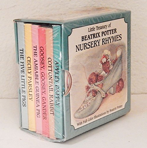 Little Treasuries: Little Treasury of Beatrix Potter Nursery Rhymes, 6 Vol. Boxed Set (0517100304) by Potter, Beatrix