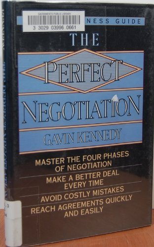 9780517101438: The Perfect Negotiation (Wings Perfect Business Guides)