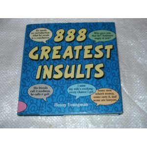 9780517101896: 888 Greatest Insults