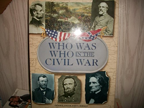 9780517103302: Who Was Who in the Civil War