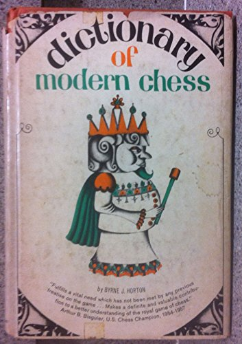 9780517108697: Dictionary of Modern Chess
