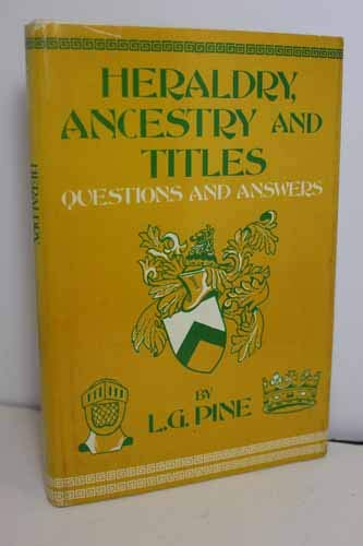 9780517109083: Heraldry, Ancestry and Titles: Questions and Answers