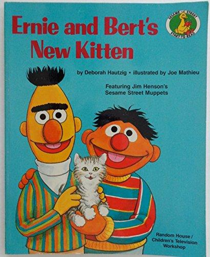 9780517111222: Ernie & Bert's New Kitten (Sesame Street Start to Read)