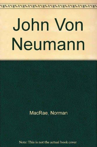 9780517112618: John Von Neumann