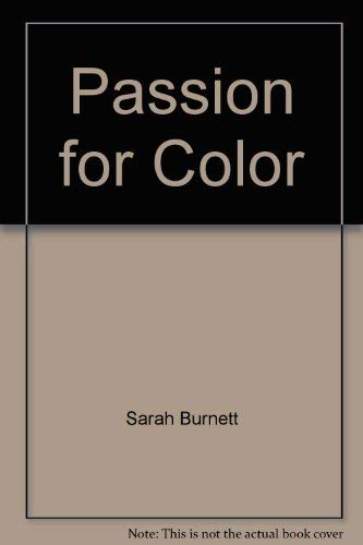 9780517114261: Passion for Color