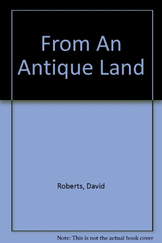9780517115503: From An Antique Land