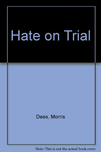 Hate on Trial (0517117606) by Morris Dees