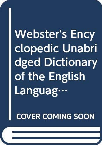 9780517118887: Webster's Encyclopedic Unabridged Dictionary of the English Language: Deluxe Edition