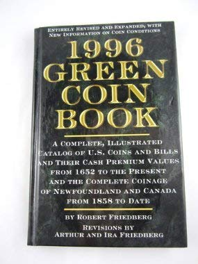 1996 Green Coin Book: Rh Value Publishing