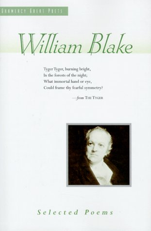 9780517123676: William Blake: Selected Poems (Great Poets)