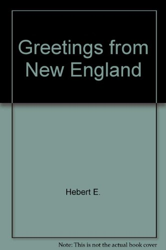 9780517129135: Greetings from New England: A Glimpse at the Past Through Postcards