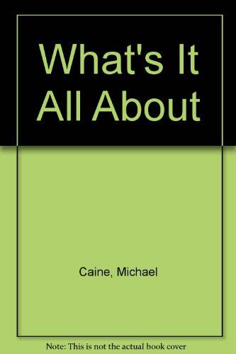 9780517129678: What's It All About