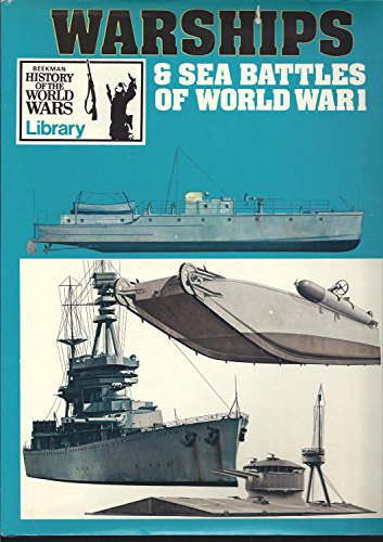 9780517130919: Warships and Sea Battles of World War I (Beekman History of world wars Library)