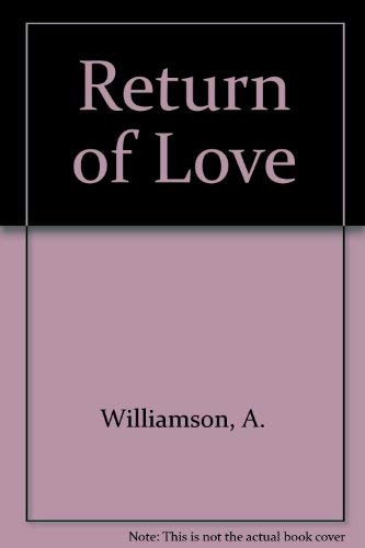 9780517136300: Return of Love