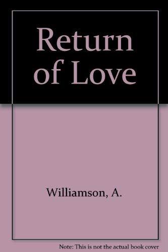 9780517136300: A Return to Love