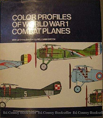 9780517137260: Color Profiles of World War I Combat Planes