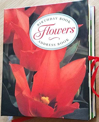 9780517140062: Diary & Address Book Gift Set: Flowers (Diary and Address Book Gift Set)