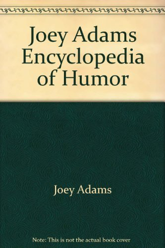 9780517140741: Joey Adams Encyclopedia of Humor