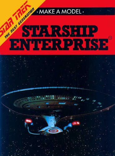 9780517141854: Make a Model of Starship Enterprise (Also Includes A Model of Shuttlecraft Galileo)