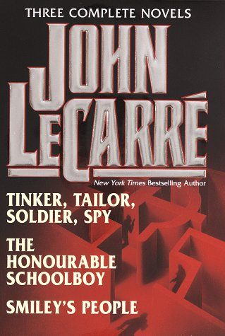 9780517146972: John Le Carre: Three Complete Novels : Tinker, Tailor, Soldier, Spy/the Honourable Schoolboy/Smiley's People