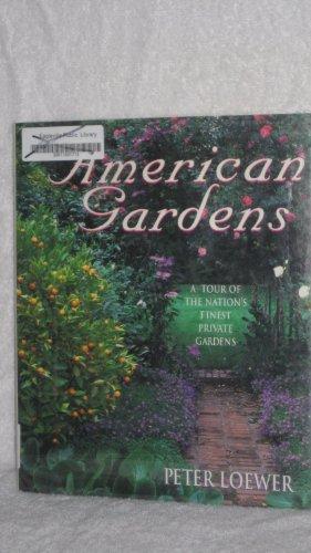 9780517147122: American Gardens