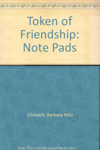 9780517156582: Token of Friendship: Note Pads