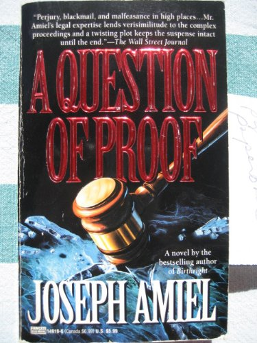 9780517157053: Question of Proof