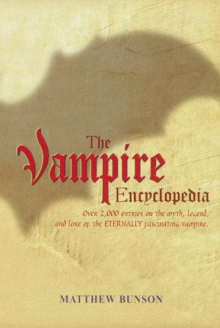 9780517162064: The Vampire Encyclopedia