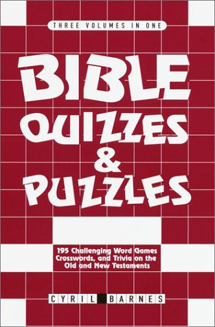 Bible Quizzes and Puzzles: Barnes, Cyril