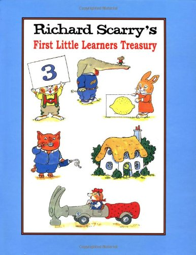 9780517162330: 3: Richard Scarry's First Little Learners Treasury