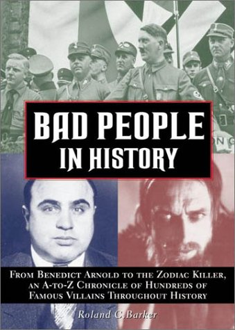 Bad People in History: Roland Barker