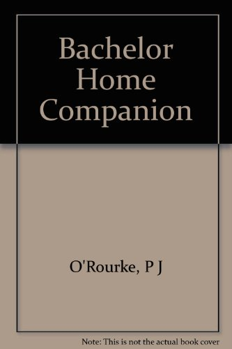 9780517166161: Bachelor Home Companion