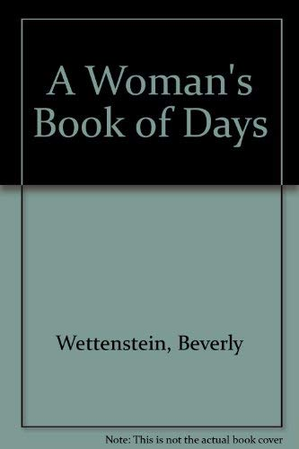 9780517170663: A Woman's Book of Days