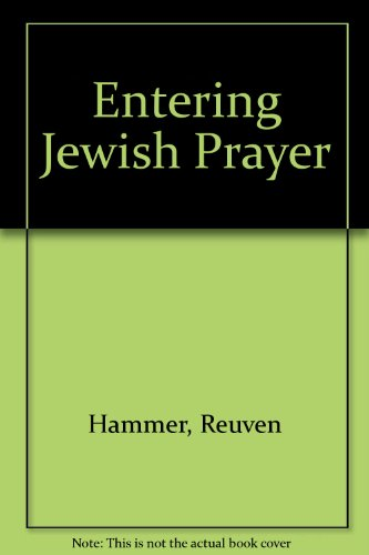 9780517172681: Entering Jewish Prayer
