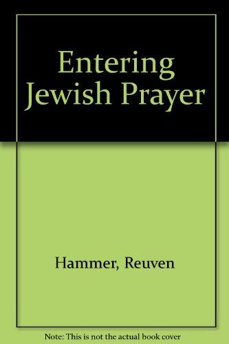 9780517172681: Entering Jewish Prayer