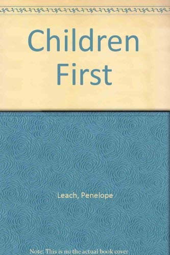 9780517174852: Children First