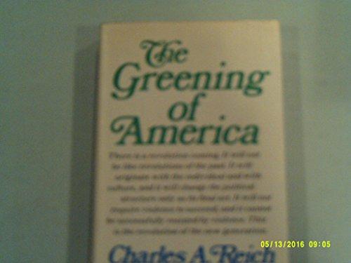 9780517174975: The Greening of America