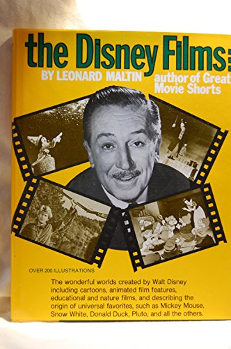 9780517177419: THE DISNEY FILMS over 200 ilustrations