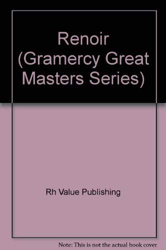 9780517182284: Renoir (Gramercy Great Masters Series)