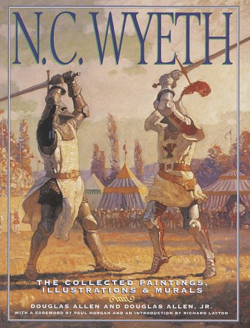 9780517183359: N.C. Wyeth: The Collected Paintings, Illustrations & Murals