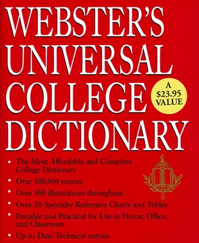 9780517183618: Webster's Universal College Dictionary [Premium]