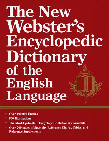 9780517183670: The New Webster's Encyclopedic Dictionary fo the English Language