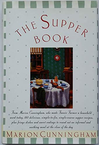 9780517183847: The Supper Book (Wings Great Cookbooks)