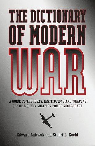 9780517188286: Dictionary of Modern War