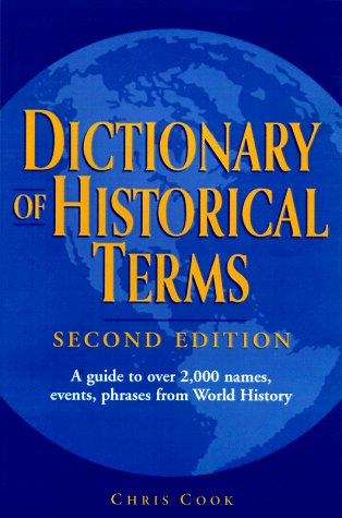 Dictionary of Historical Terms