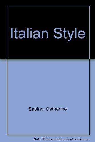 9780517192740: Italian Style
