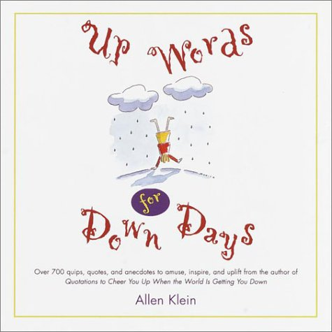 9780517202708: Up Words for Down Days