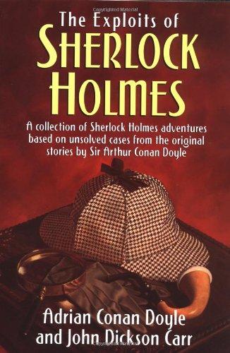Exploits of Sherlock Holmes (0517203383) by Doyle, Adrian Conan; Carr, John Dickson