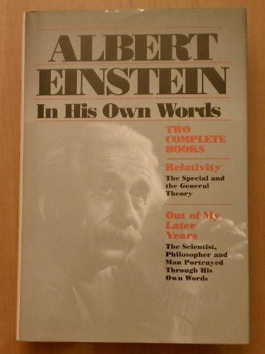 9780517209844: Albert Einstein in His Own Words